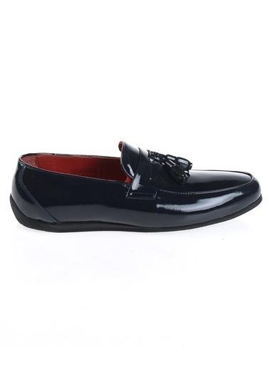 Derigo %100 Deri Casual Ayakkabı Lacivert